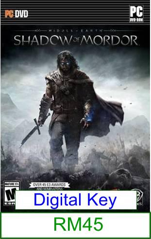 PC Middle-Earth Shadow of Mordor ★Brand New★