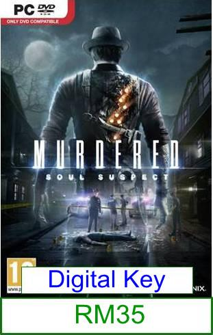 PC Murdered Soul Suspect ★Brand New★