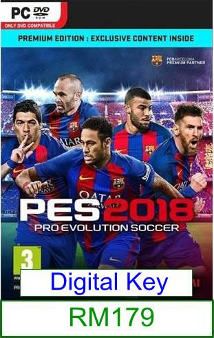 PC PES 2018 ★Brand New★