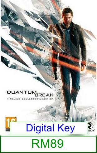 PC Quantum Break ★Brand New★