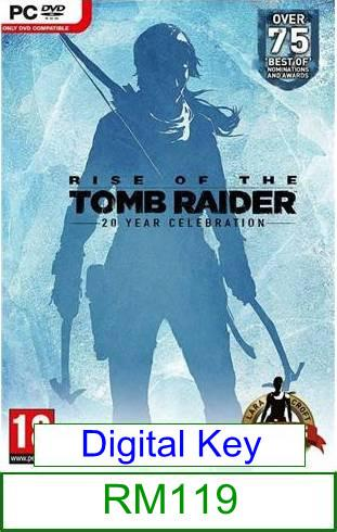 PC Rise of the Tomb Raider 20 Year Celebration ★Brand New★