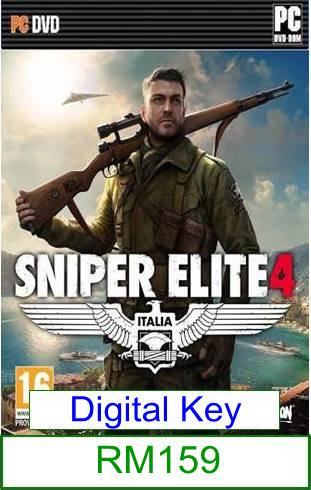 PC Sniper Elite 4 ★Brand New★