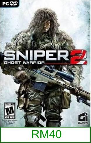 PC Sniper Ghost Warrior 2 ★Brand New & Sealed★