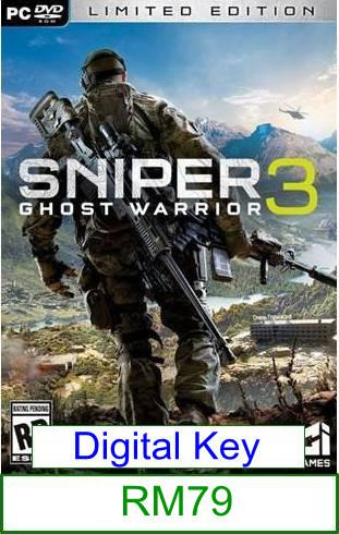 PC Sniper Ghost Warrior 3 ★Brand New★