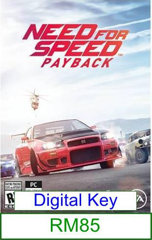 PC Need for Speed Payback ★Brand New★