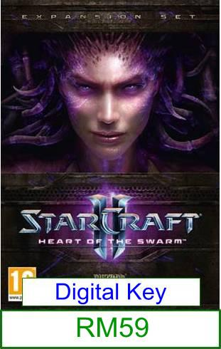PC StarCraft II Heart of The Swarm★Brand New & Sealed★