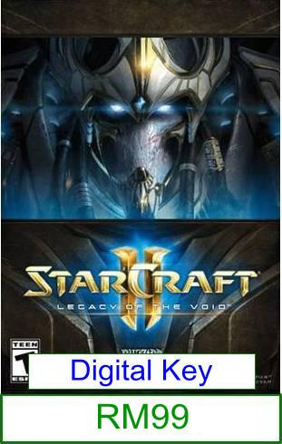 PC StarCraft II Legacy of The Void ★Brand New & Sealed★