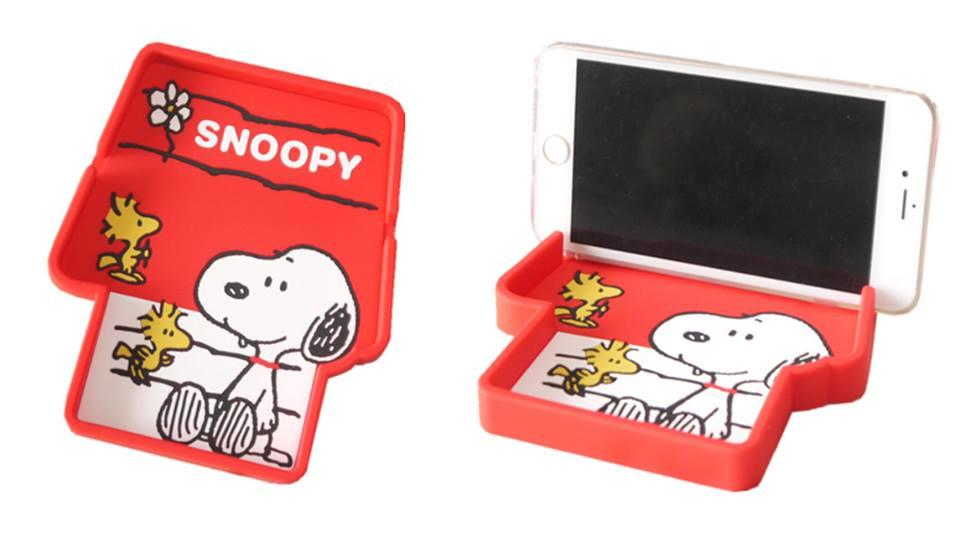 PC0137 SILICONE SNOOPY PHONE STAND