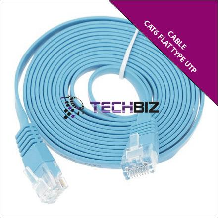 PC500(Cat6) – Cat6 Flat Type UTP Patch Cable – Full Copper