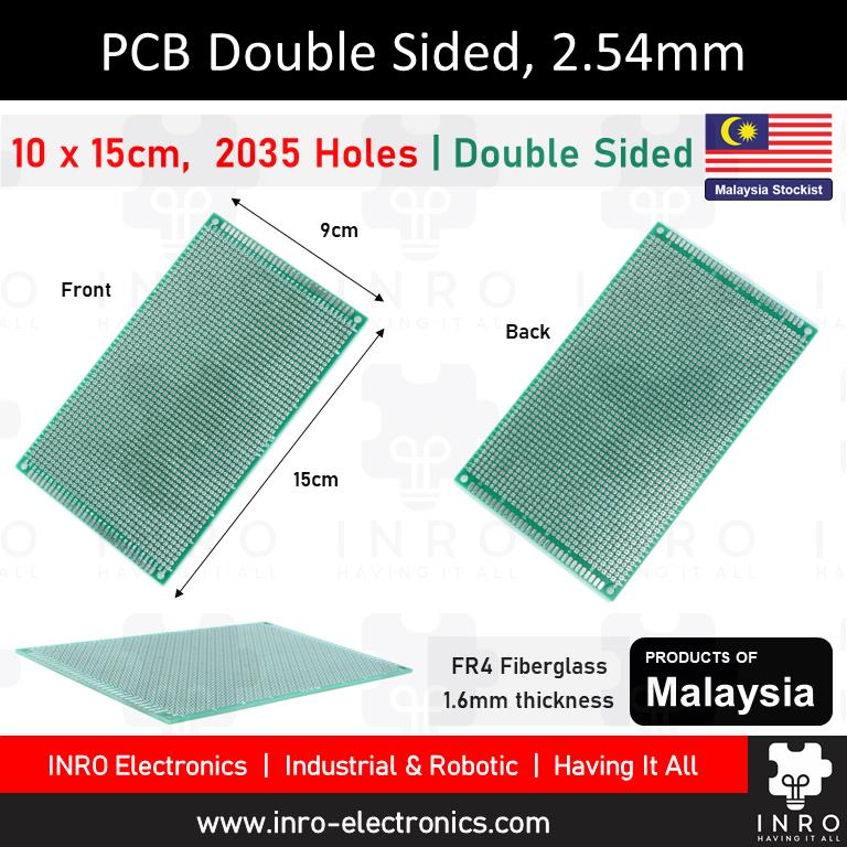 PCB, Printed Circuit Board, Donut Board, Double Sided, 10x15cm