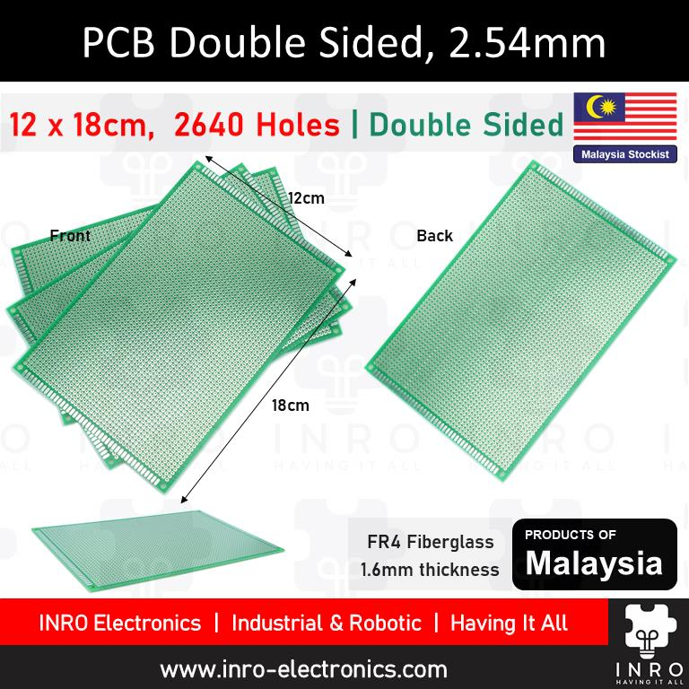 PCB, Printed Circuit Board, Donut Board, Double Sided, 12x18cm