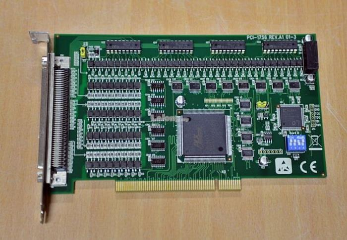 PCI-1756 64-ch Isolated Digital I/O PCI Card REV.A1 01-3