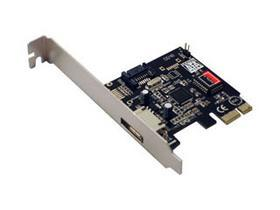 PCI-express SATA 2 1-ext + 1-int Ports SATAII Card