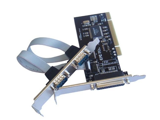 PCI Serial + Parallel 2S1P