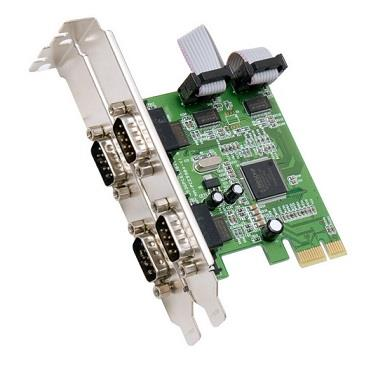 PCIe Serial 4S Port Card
