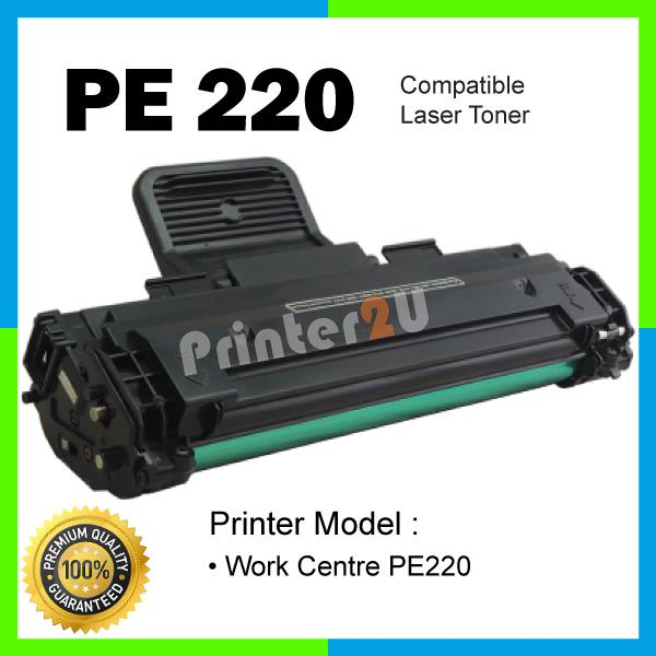 PE220 Laser Toner Black@FUJIXEROX/Fuji Xerox WorkCentre PE 220 Printer
