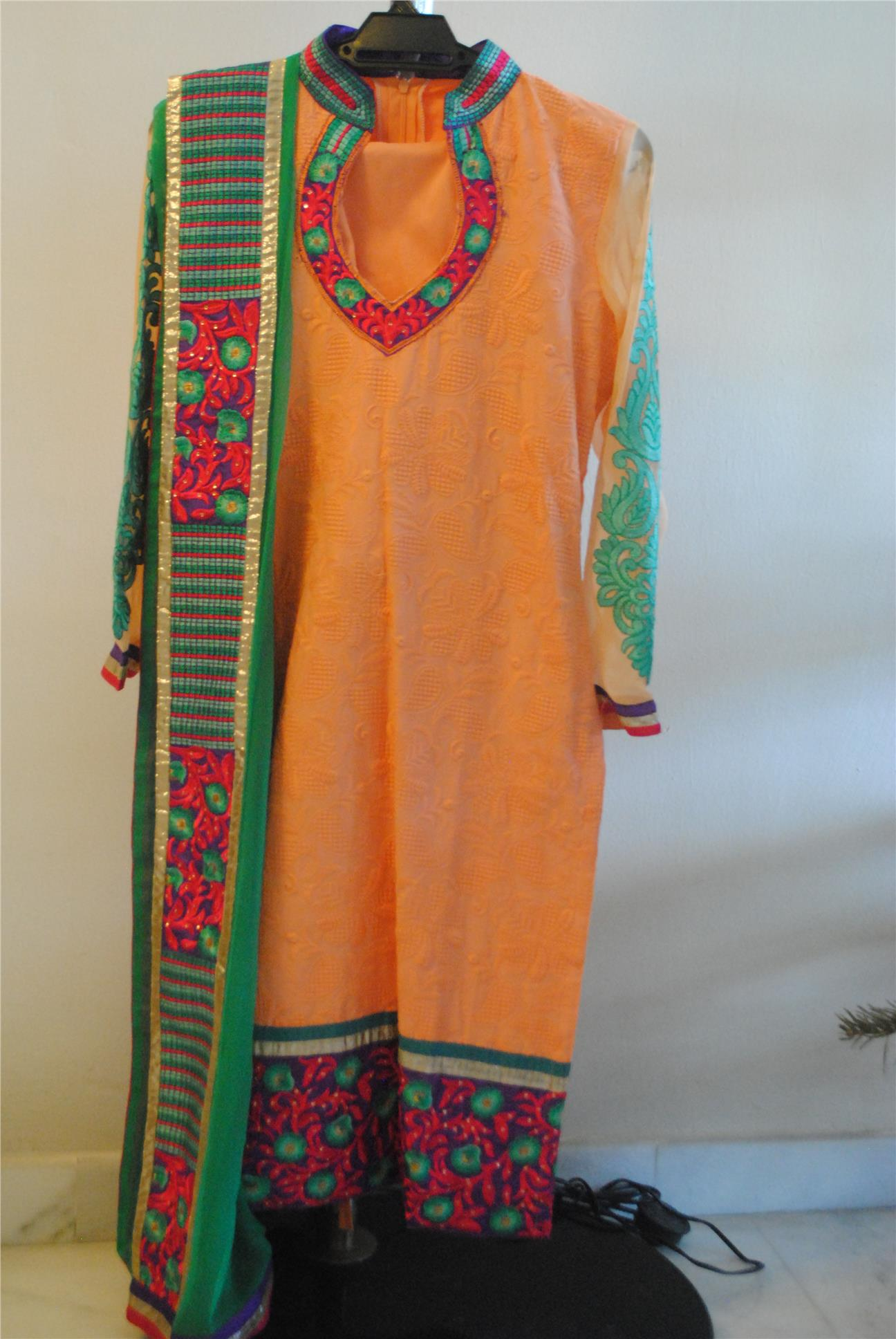 Peach Punjabi Suit