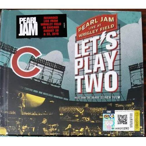 Pearl Jam live At Wrigley Field Let's Play Two CD (Imported CD)