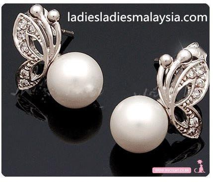 Pearl Jewellery Sets with Butterfly