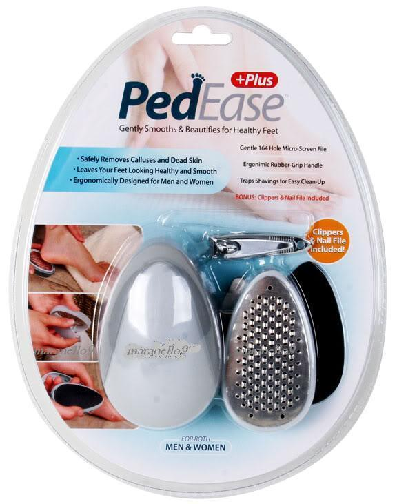 Ped Ease Plus+ Makes Your Cracked & Rough Skin Smooth Again! BuyNow