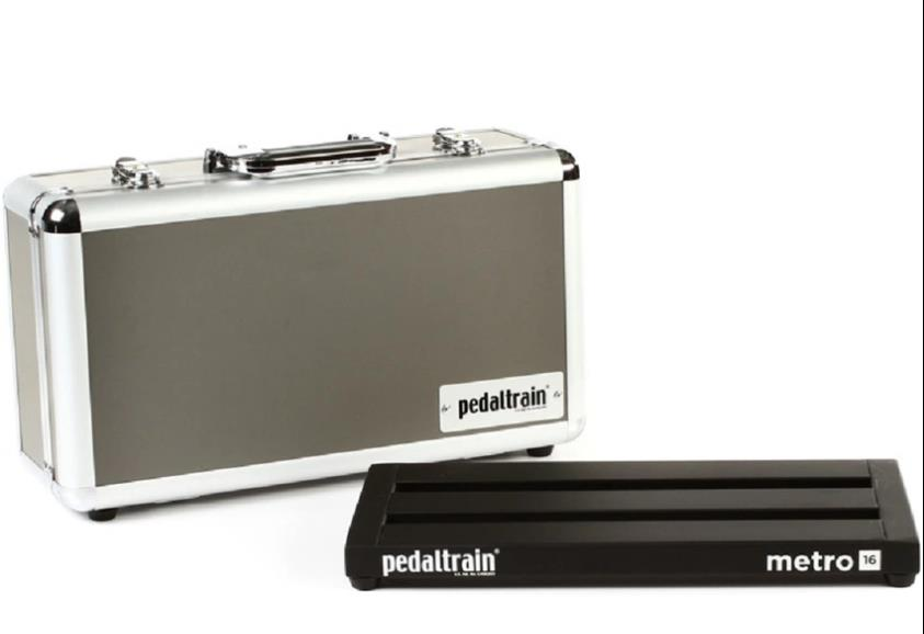 Pedaltrain PT-M16-HC Metro 16 Pedal Boards with Hard Case