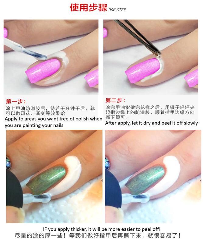 Peel Off Cuticle Guard Nail Polish Pr (end 4/3/2016 9:15 PM)