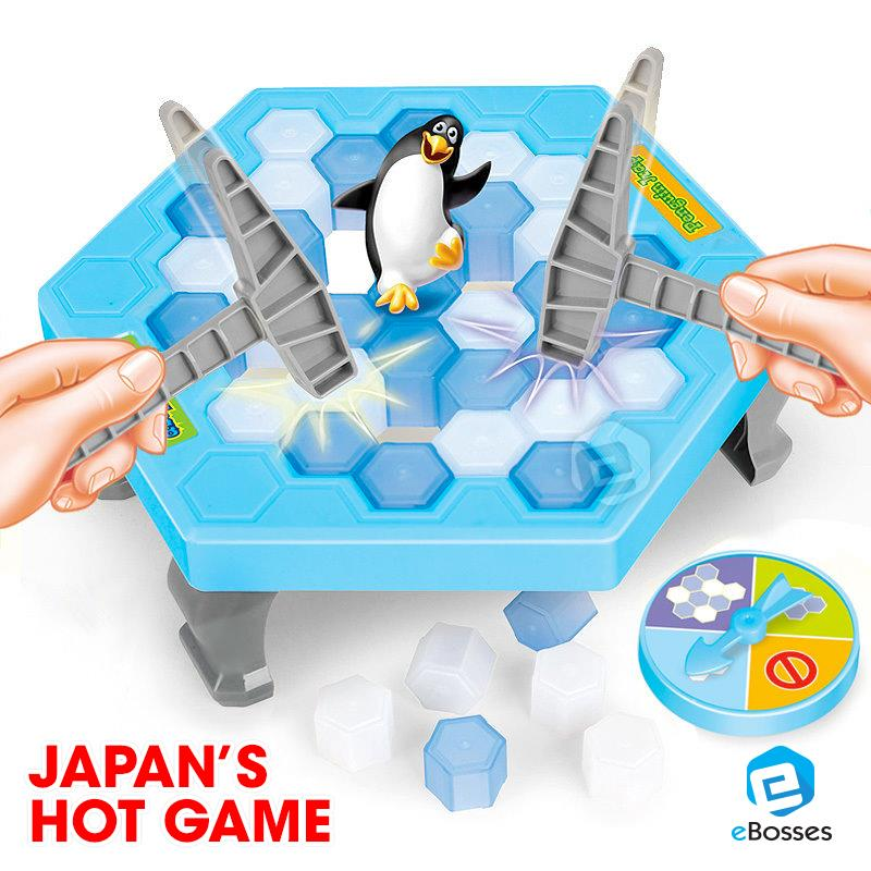 penguin trap game instructions
