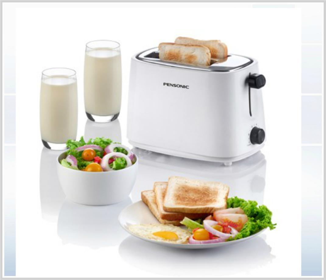 Pensonic Slice Pop Up Bread Toaster PT 928