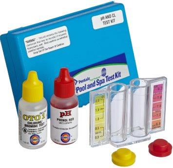 Pentair 2 in 1 test kit for swimming end 6 23 2016 4 15 pm for Swimming pool test