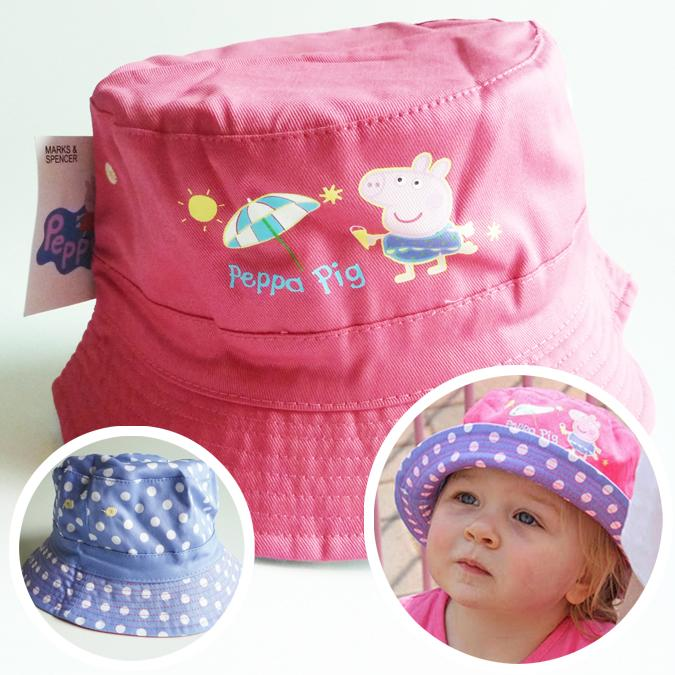 'Peppa Pig' Reversible Sun Hat