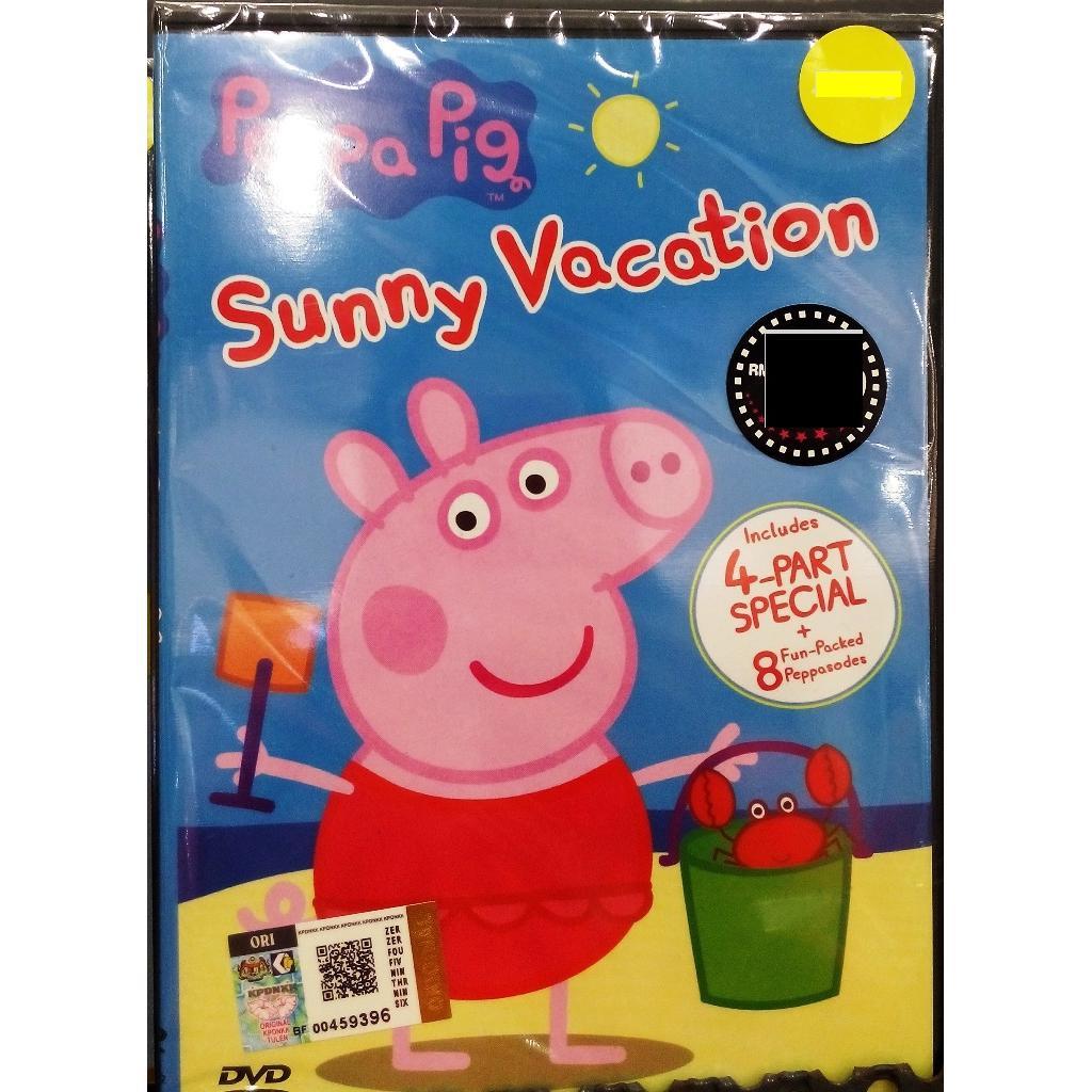 Peppa Pig Sunny Vacation Anime DVD