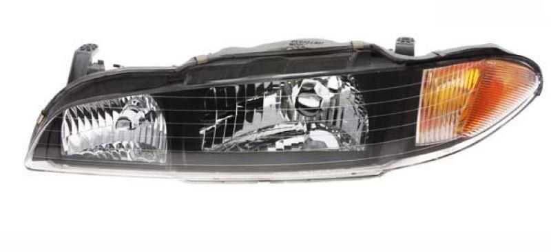 Perdana V6 Crystal Head Lamp Black Housing 1-pair