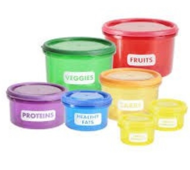 PERFECT PORTIONS CONTAINERS (Free Delivery)