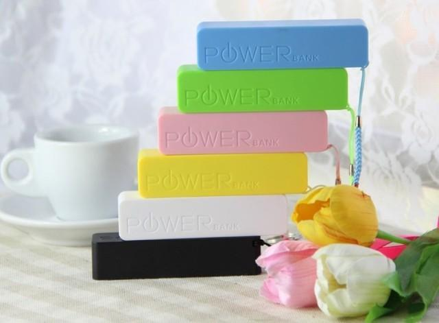 Perfume Power Bank 2600mAh Portable Charger FREE USB Cable+charger~!