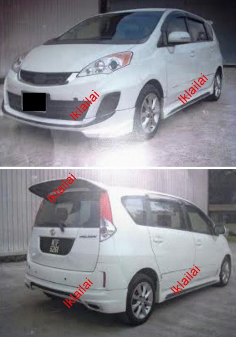 Perodua Alza '14 Sportivo Style Full Set Body Kit PU (Painted)