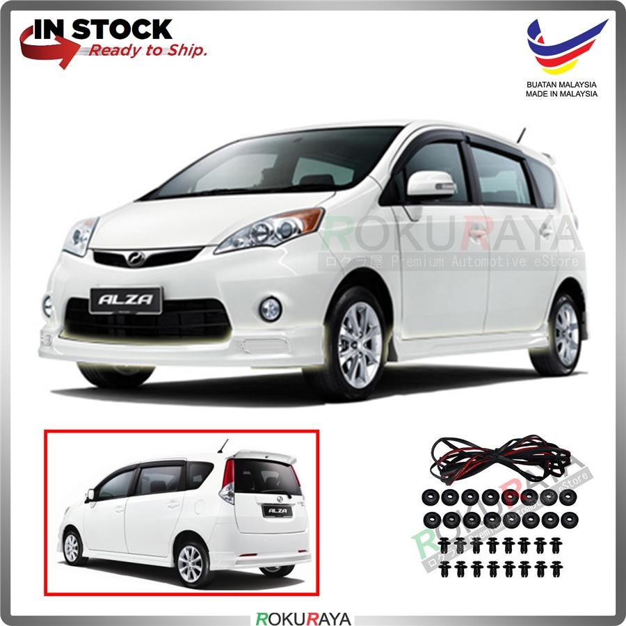 Perodua Alza Old 2009 ABS Bodykit Front Side Rear Skirting SE