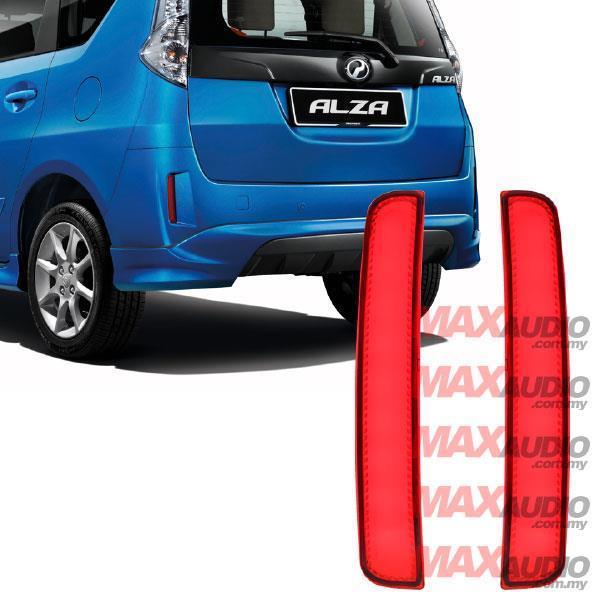 PERODUA ALZA Advance 14-17 Sequential Blinking Rear Bumper LED Light