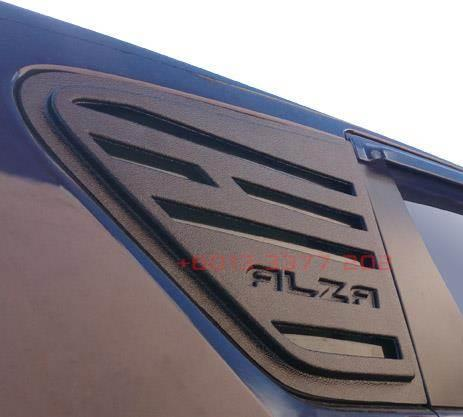 Perodua Alza Rear Side Window Aero Cover