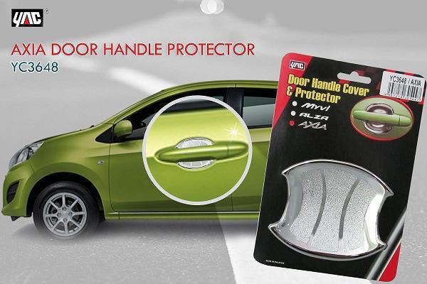 Delightful Perodua Axia Door Handle Inner Bowl Cover Trim Chrome