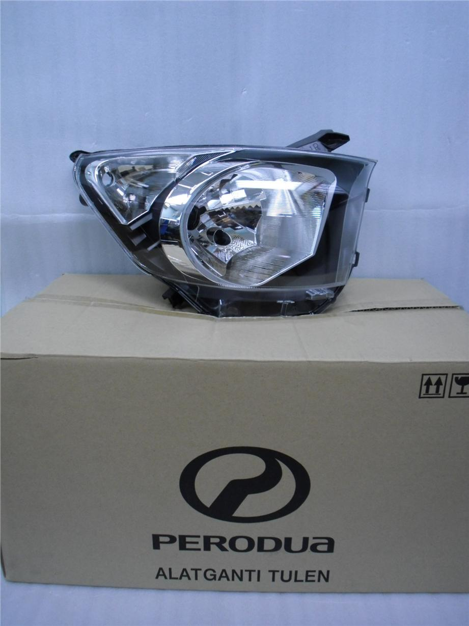 PERODUA AXIA GENUINE PARTS HEADLAMP LH OR RH