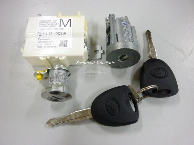 Perodua Axia Immobilizer Key Set Original