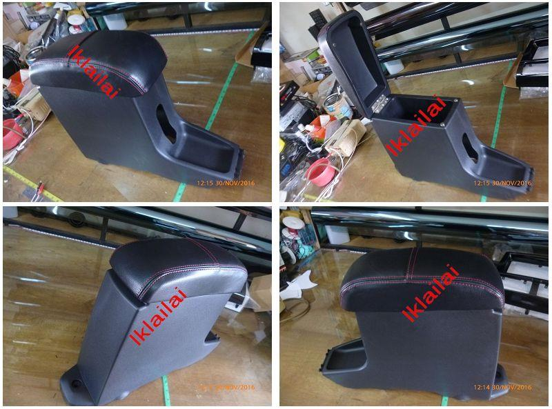 Perodua Axia OEM Arm Rest / Armrest with Red Line