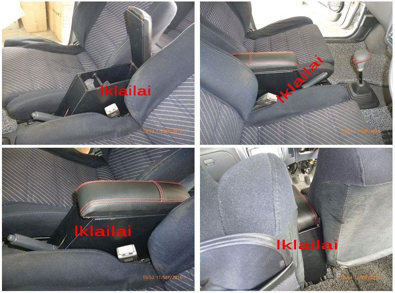 Perodua Kancil [Old / New] Arm Rest / Console [Black]