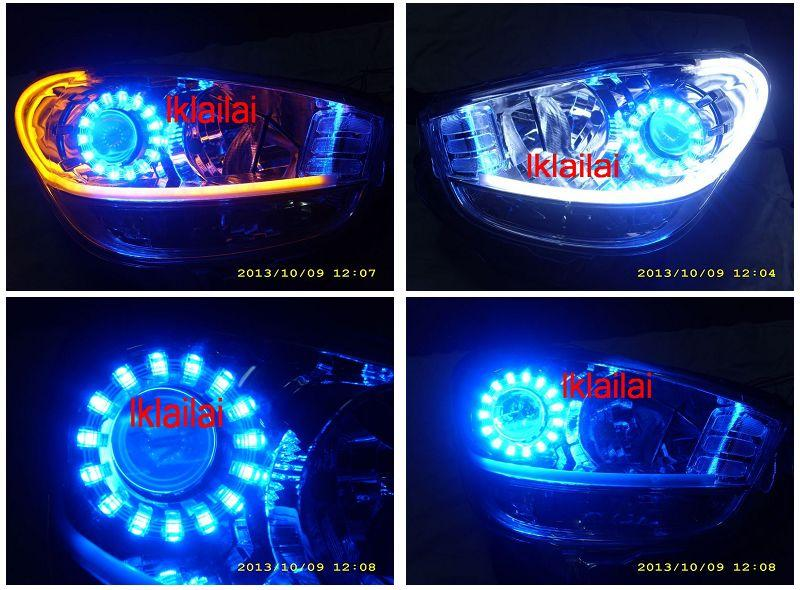 Perodua Myvi '11 2-Function DRL+Magic Ring+Angel Eye [NO Head Lamp]