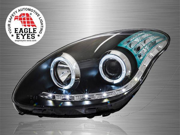 PERODUA MYVI 2005-10 EAGLE EYES CCFE Ring Starline Projector Head Lamp