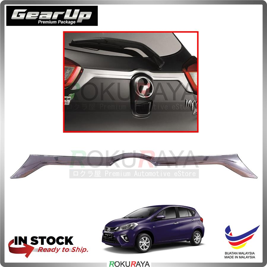 Perodua Myvi (3rd Gen) 2018 Gear Up Rear Back Door Trunk Boot Tailgate