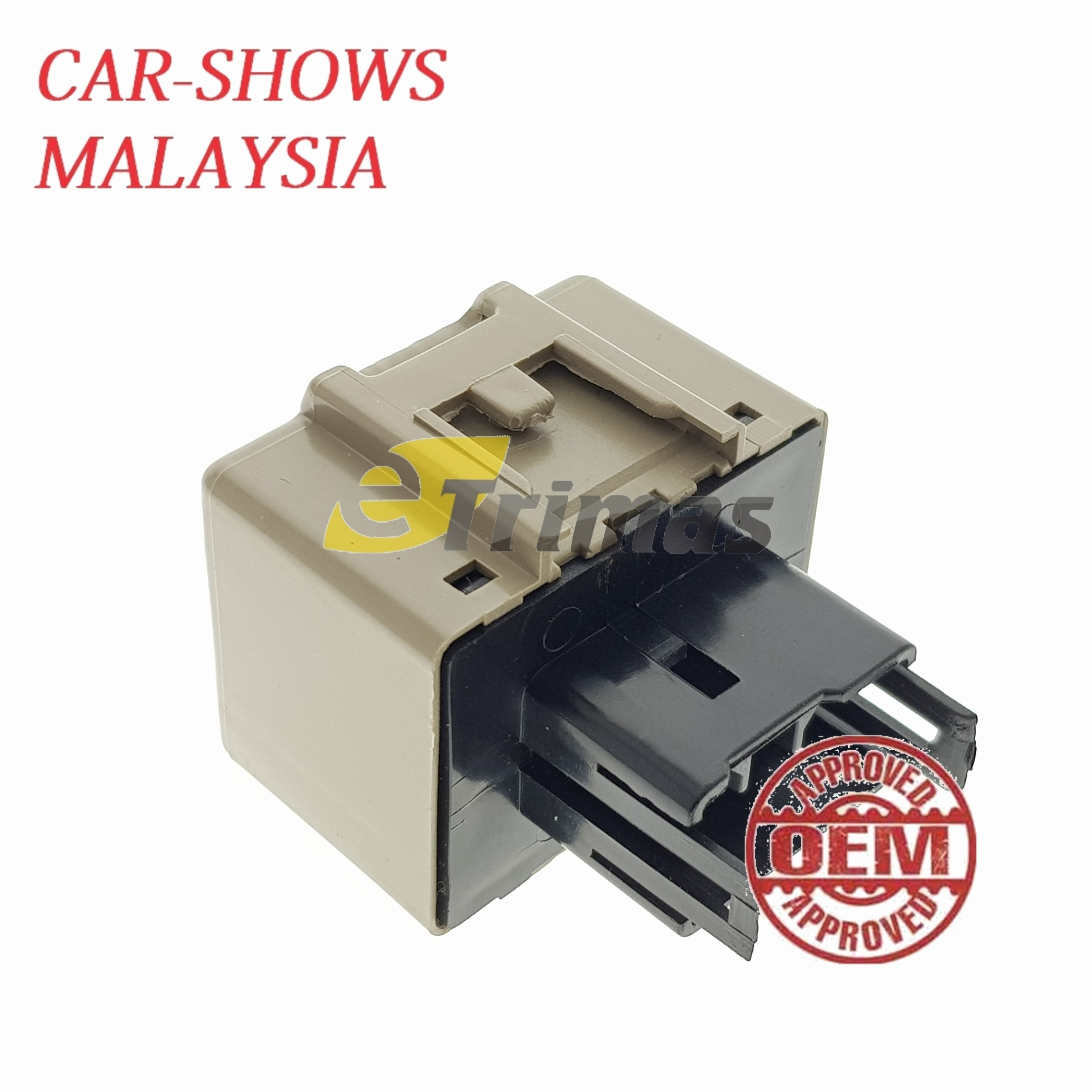 Perodua Myvi Alza LED Flasher Relay Unit Fix Hyper Flash Turn Signal Light