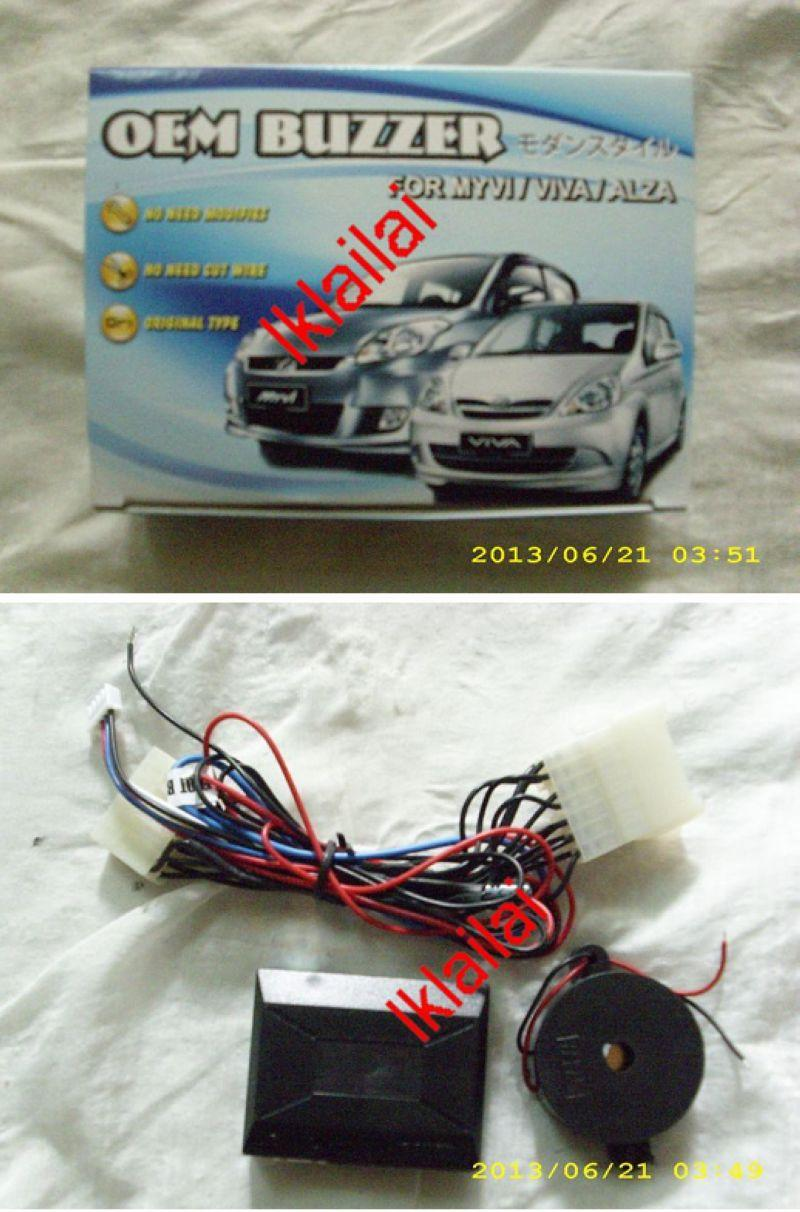 Perodua Myvi/Alza/Viva Buzzer+Double Signal+Foot Brake Lock [3 in 1]