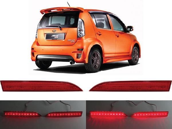 PERODUA MYVI SE2 2008 - 2010 Rear Bumper LED Brake Light (Red)