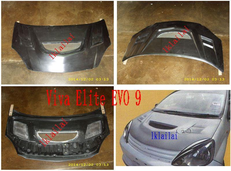 Perodua Viva Elite EVO 9 Front Bonne (end 6/27/2018 1:56 PM)